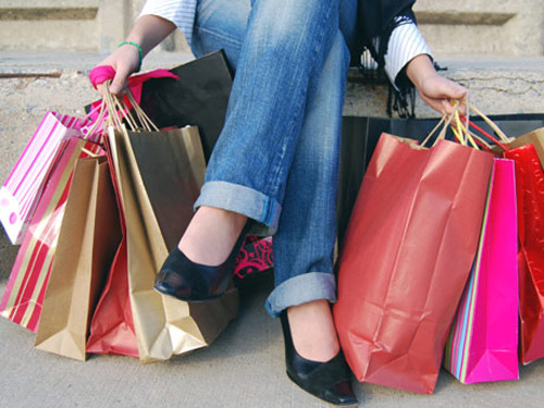 Shopping-Bags - Mamas on a Dime