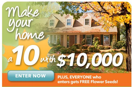 free flower seeds plus a chance to win 10 000 mamas on a dime. Black Bedroom Furniture Sets. Home Design Ideas