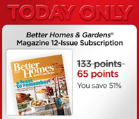 My Coke Rewards Better Homes Gardens Subscription 65