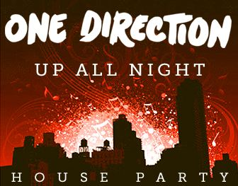 You can apply to host a One Direction Up All Night House Party .