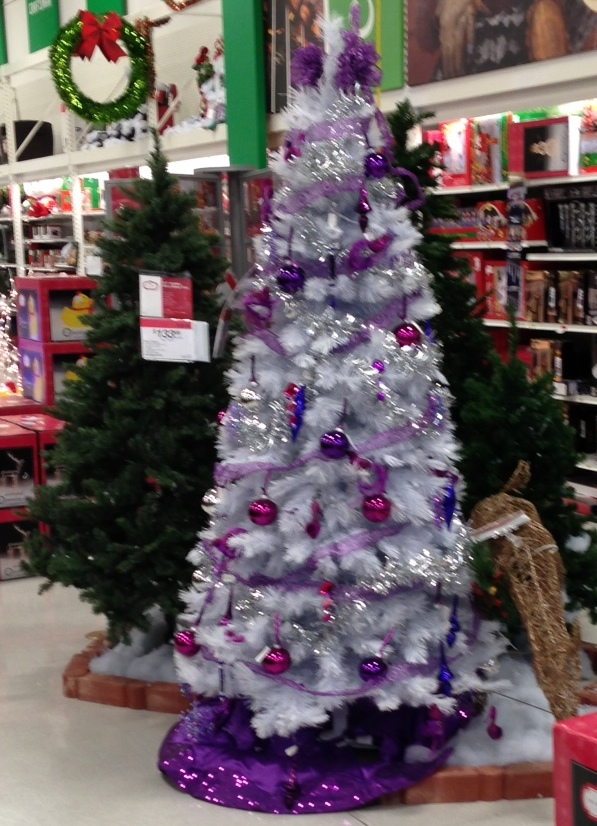 Good Christmas Tree Sears Part - 12: They Also Had Some Cute Christmas Trees (including The Purple One Above).  Iu0027m Such A Girlie Girl And Would Have Totally Bought It If I Thought I Had  Any ...