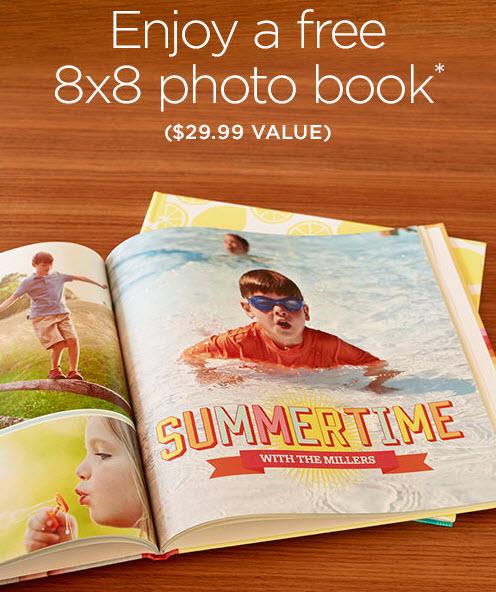 free shutterfly book