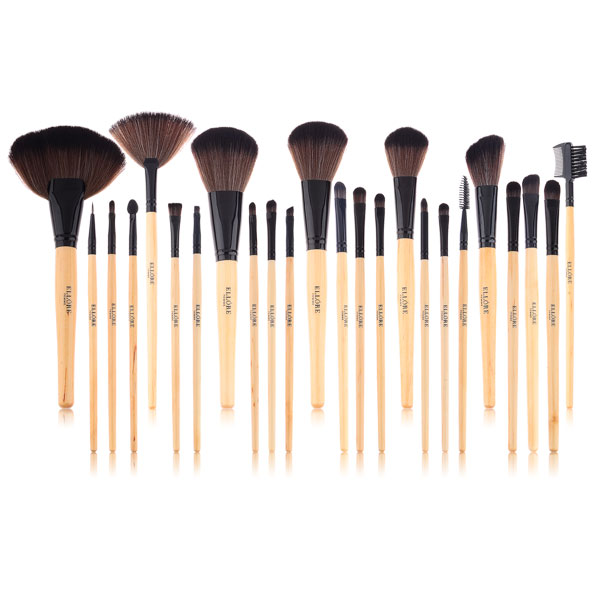 natural makeup brushes. makeup brush set natural brushes p