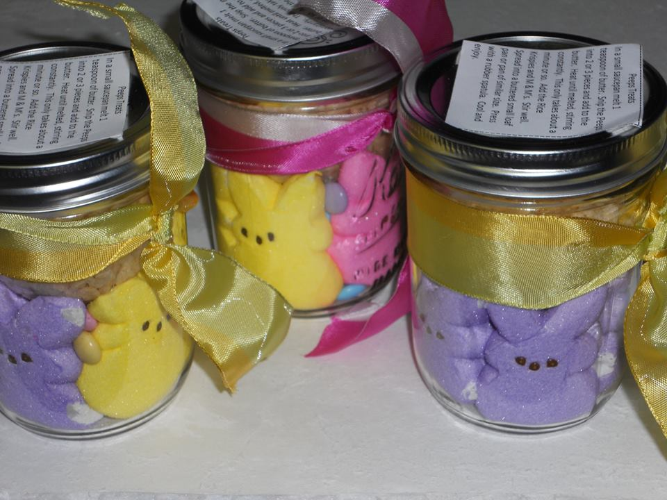 Easter peep treats