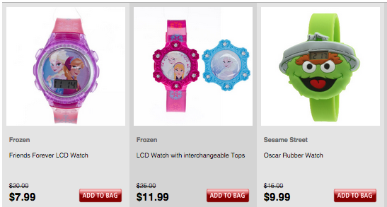 Frozen Watches
