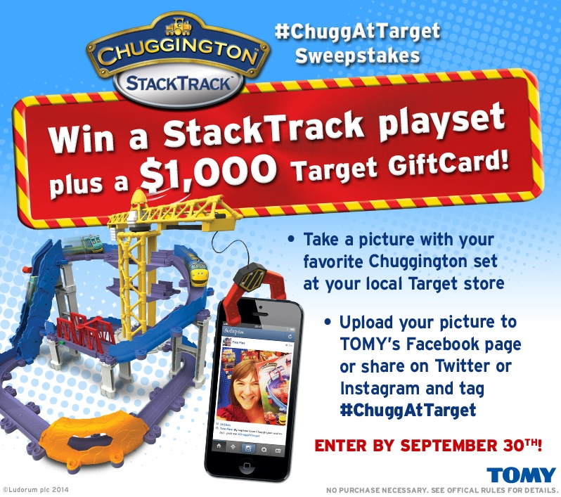 StackTrack Playset Sweepstakes