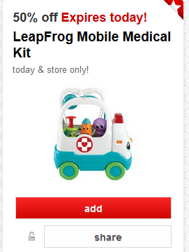 leapfrog target coupon
