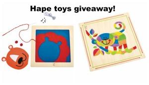 Hape toys giveaway