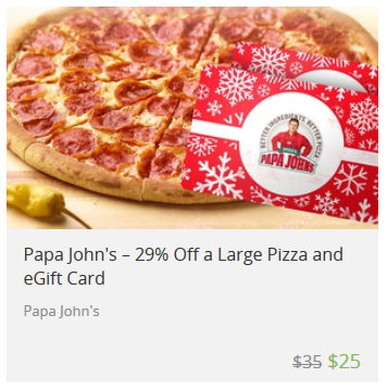 papa johns gift card deal