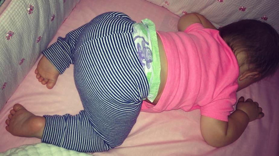sleeping Tori