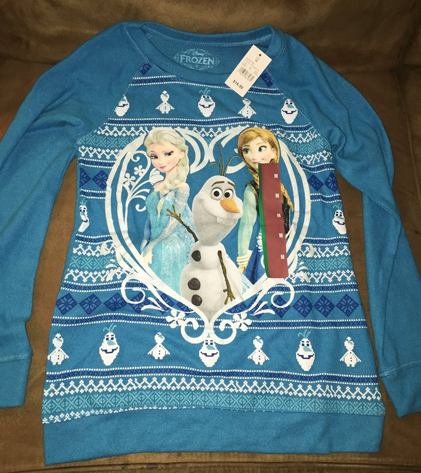 Frozen shirt