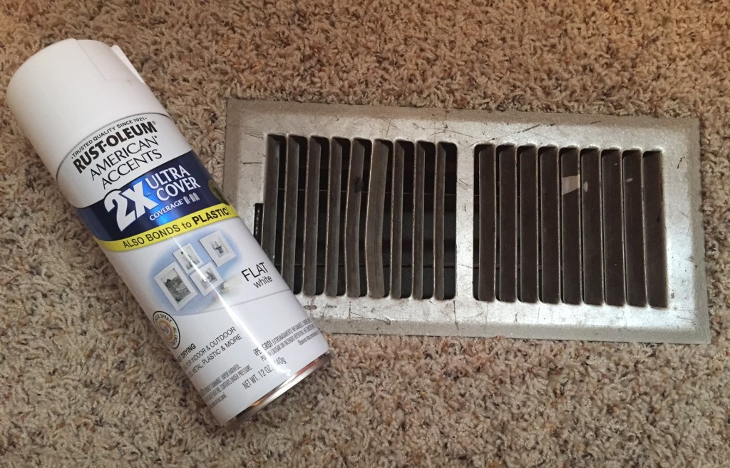 Give your heat vents a face lift on the cheap!