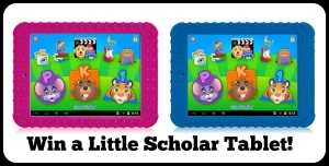 Win a little scholar tablet