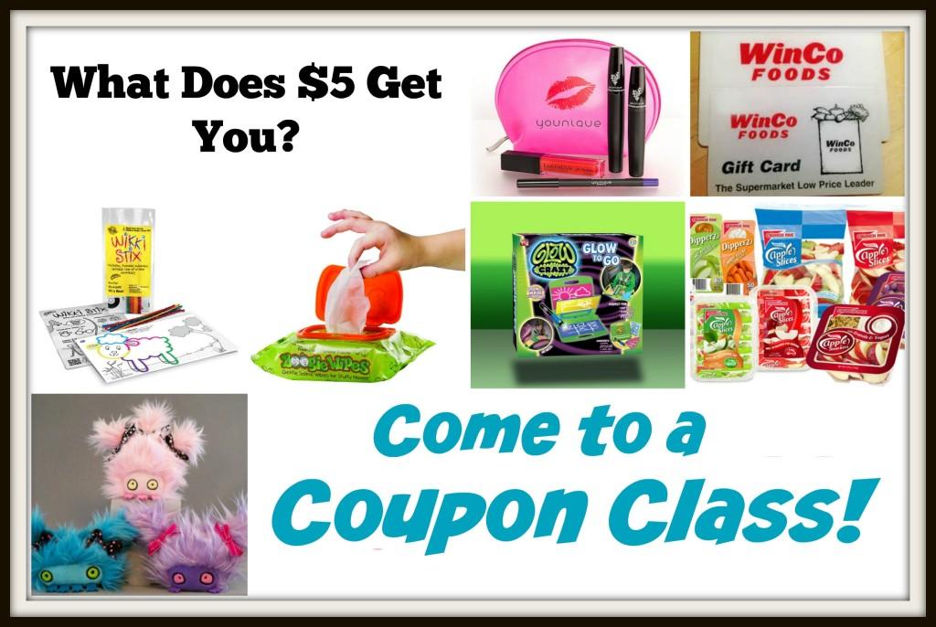 coupon class prizes