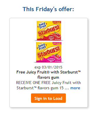 free juicy fruit gum