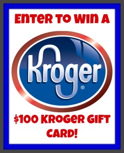 Win a Kroger gift card