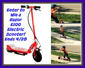 Razor E100 Electric Scooter Giveaway