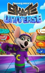 chuck e cheese Skate Universe