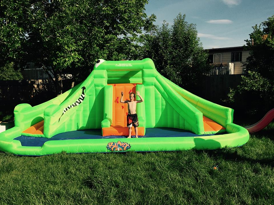 Outstanding Enter To Win A Blast Zone Bounce House Mamas On A Dime Download Free Architecture Designs Scobabritishbridgeorg