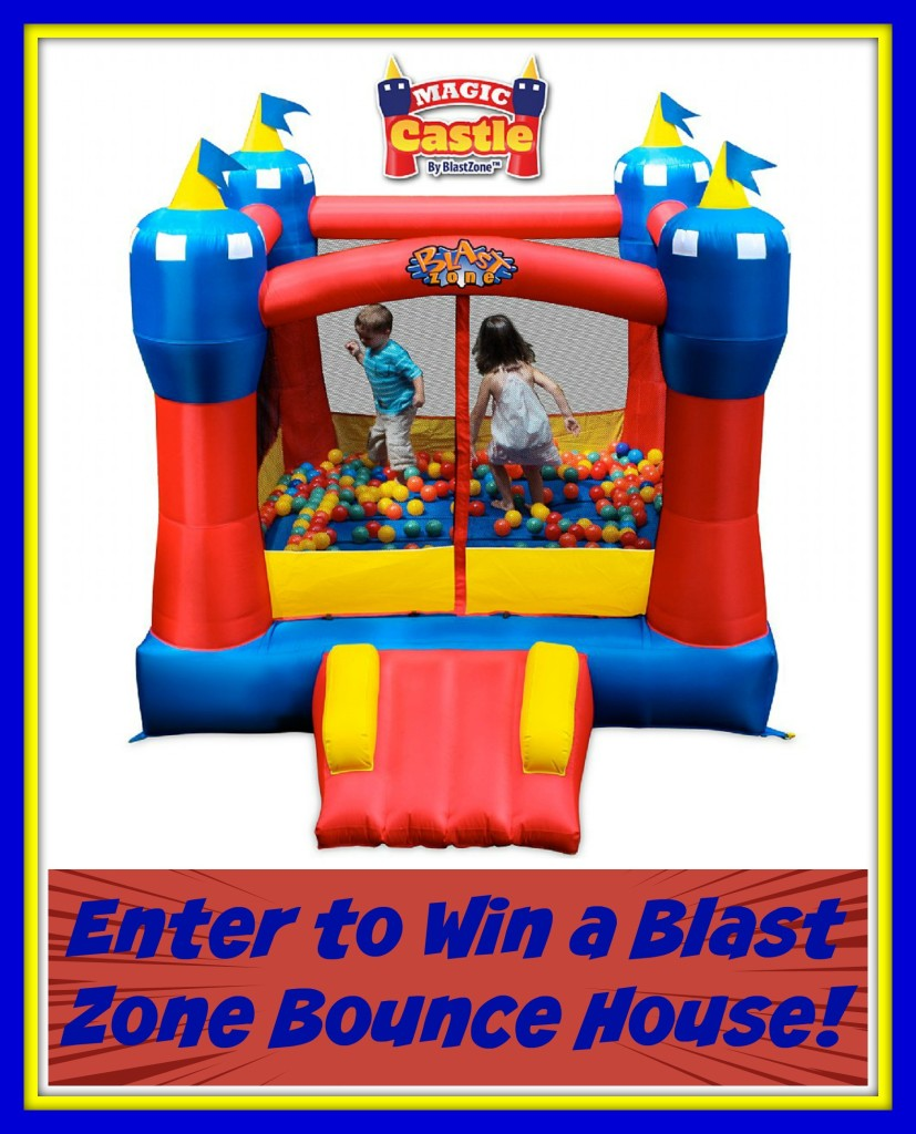 Groovy Enter To Win A Blast Zone Bounce House Mamas On A Dime Download Free Architecture Designs Scobabritishbridgeorg