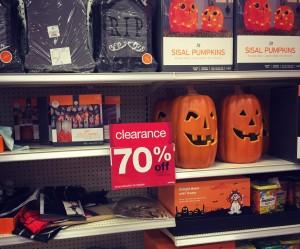 Target Halloween clearance