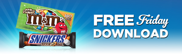 free m and m's