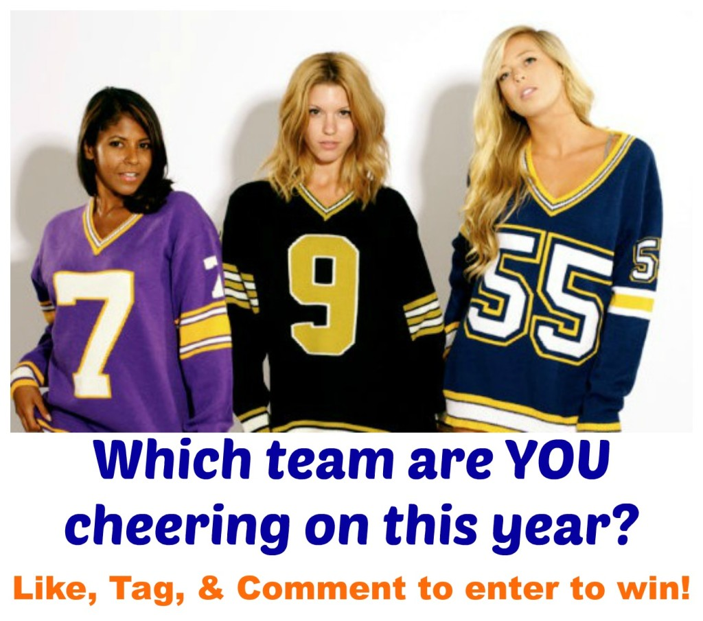 Enter to Win a Football Jersey