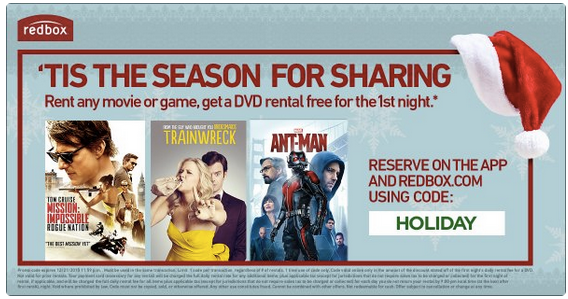 Here's a new FREE Redbox movie rental code valid through today, Saturday, 4/23! Use the code JG76GJP2 on ashamedphilippines.ml when you check out to get the DVD for free! Redbox.
