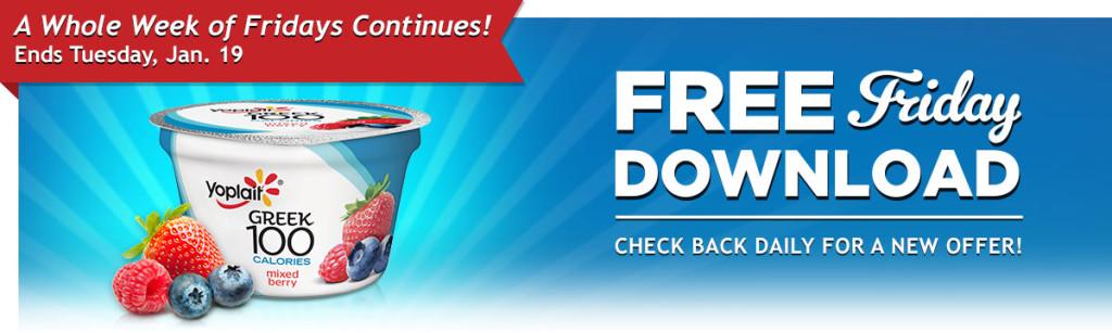 free yoplait yogurt