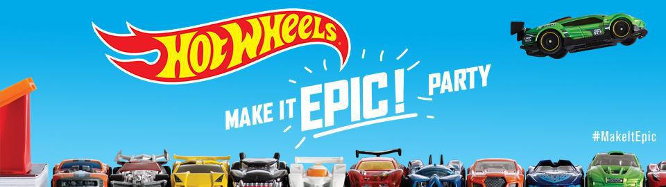 hot wheels house party