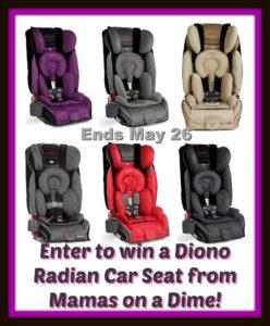 Win a car seat
