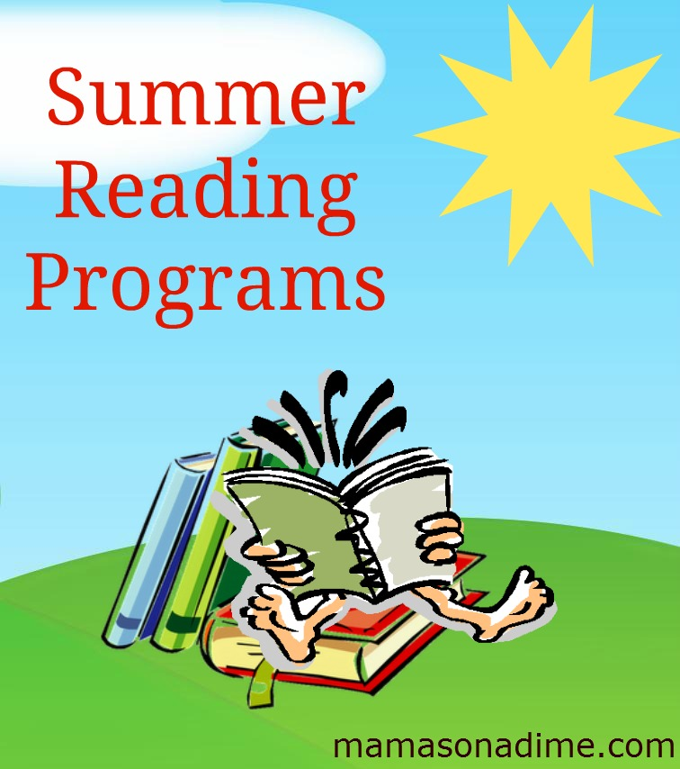 FREE Summer Reading Programs - Mamas on a Dime